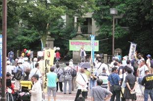 150627川崎戦争法反対集会1